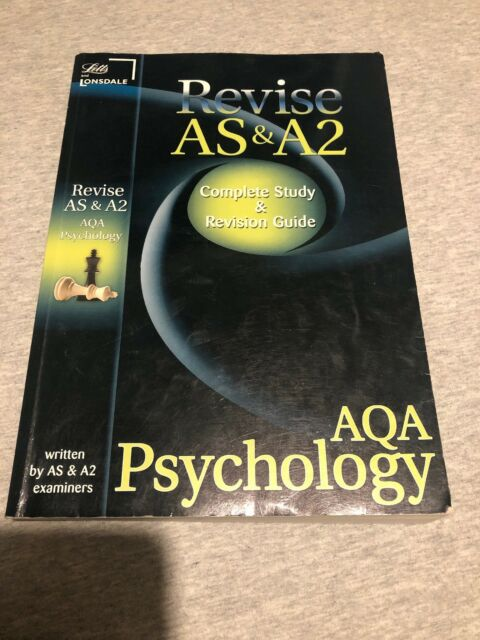 Revise AS and A2: AQA Psychology (Letts A Level Success),Various