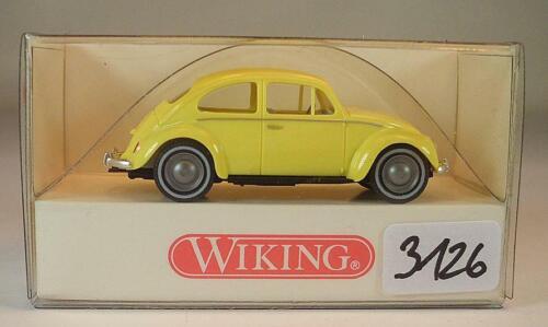 Wiking 1//87 Nr 810 03 22 VW 1200 Käfer gelb OVP #3126