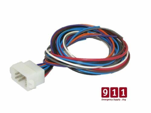 Whelen Siren Control Power Harness Plug Cable 12 Pin Cord 295SLS102 295SLSA1