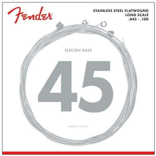 Fender 9050L Stainless Steel Flatwound Long Scale .045-.100 4-String Bass Saiten