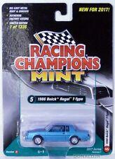 Racing Champions 1986 Buick Regal T-Type (2nd Gen) Blue Version B MOC 1 of 1,336