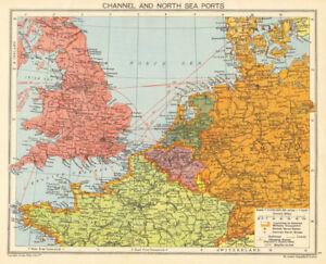World War 2 English Channel North Sea Ports German Occupied