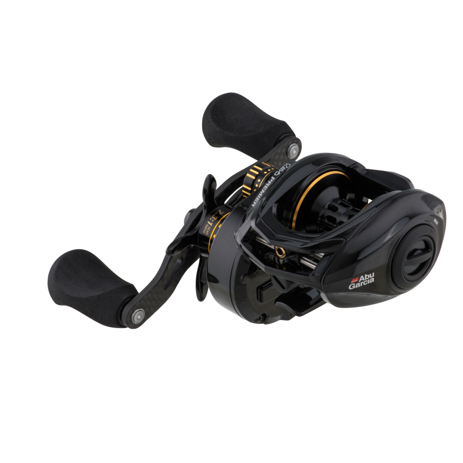 Abu Garcia REVO 4 PREMIER HIGH SPEED RIGHT HAND Low Profile Bait Casting Reel