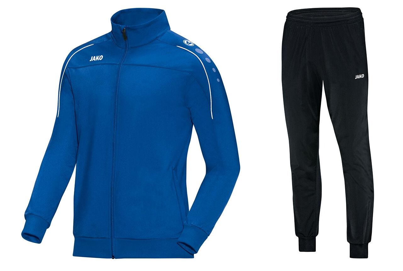 JAKO Trainingsanzug Jogginganzug Classico blau blau blau S M L XL XXL 3XL 4XL 686635