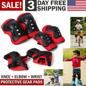 Knee-Elbow-Pads-Guards-Protective-Gear-Set-for-Kids-Children-Roller-Cycling-Bike