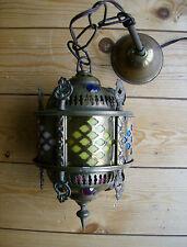 """Messing ORIENT Deckenlampe - """"1001 NACHT"""" TRAUMHAFTES FARBENSPIEL*************"""