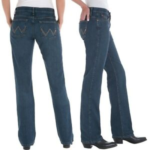 f7419f56 Wrangler Q-Baby Cowgirl Cut WRQ20TB Riding Stretch Jeans - Size 19 ...