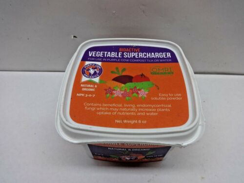 8oz Purple Cow BioActive Organic Vegetable Supercharger Powder NPK 3-0-7