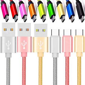 Per Android Caricabatterie Lungo Sincronizzazione Dati USB Tipo C 2.0 Tubi Cavo