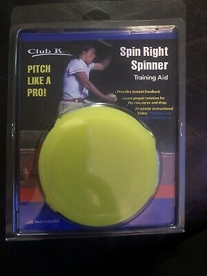 Spin droit Spinner fastpitch Pitching Training Aid Baseball Softball nouveau