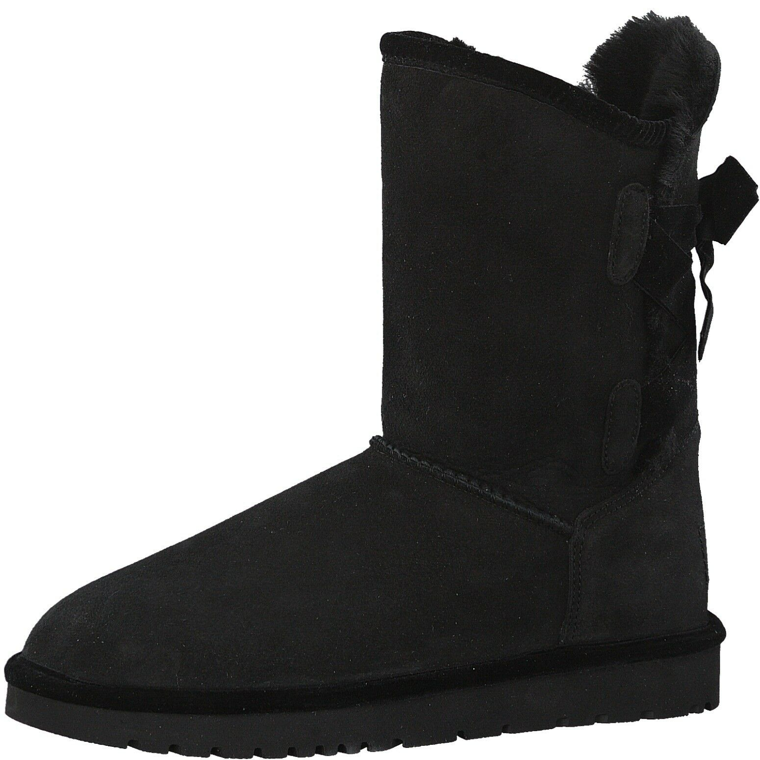 Echt Schwarz Stiefel Winter Tamaris Leder Schuhe FKJcl1