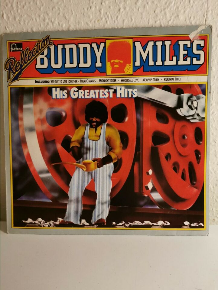 LP, Buddy Miles, Reflection His Greatest HIts