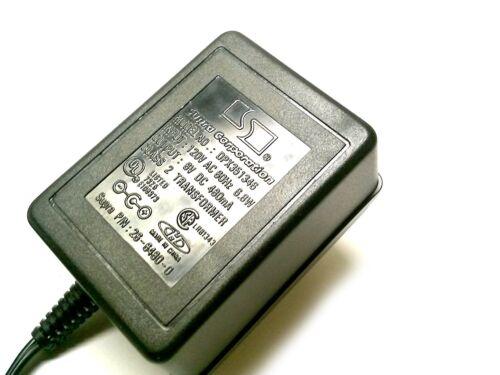 + SUPRA AC-DC ADAPTER 6VDC-480mA 1.3mm CENTER 1 PIECE DC PLUG # ZDPX351346