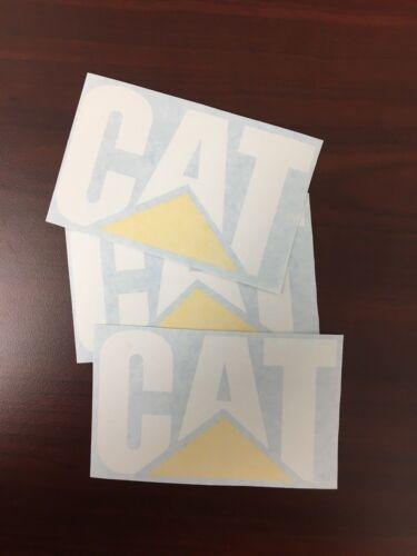 3  CATERPILLAR Quality Vinyl Decals 12/'/'x8/'/' Sticker