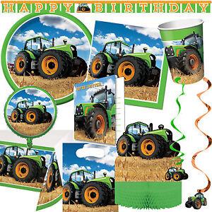 Traktor Alles Zum Bauernhof Kindergeburtstag Mottoparty