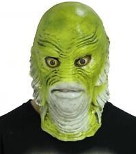 Lagoon Creature Monster Mask SLEESTAK Lizard Halloween Fancy Dress ...