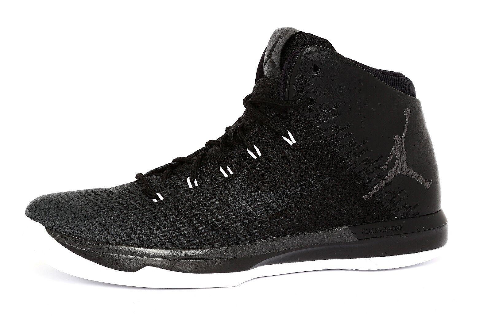 Air Jordan 31 Black Cat Mens Black Anthracite White High Top Sneakers Sz 11 4356