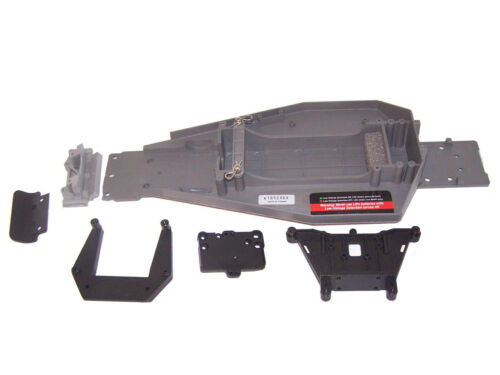 Traxxas 24054-4 Bandit XL5 Chassis ESC Plate /& Bulkhead Set Shock Towers