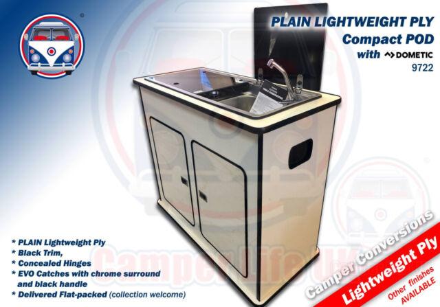 Nissan Nv200 Camper Van Removable Plain Lightweight Ply Kitchen Pod Smev9722