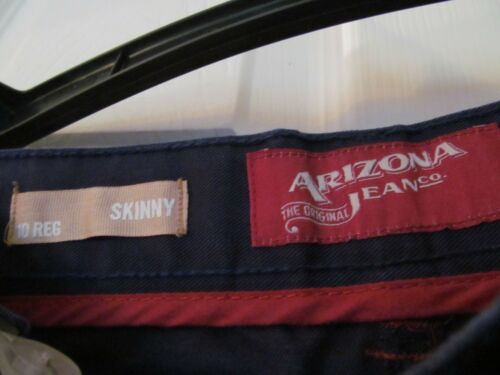 Size 10 Reg Colored Jeans NWT Boys ARIZONA JEAN CO Skinny Viking Blue