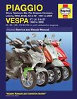 Piaggio and Vespa Scooters (with Carburettor Engines) Service and Repair Manual: 1991 to 2009 by Matthew Coombs, Phil Mather (Paperback, 2009)