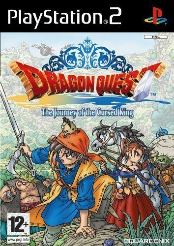 Dragon Quest VIII: Journey of the Cursed King (Sony PlayStation 2) Disk Only