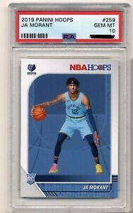 Ja-Morant-Rookie-Card-PSA-10-Gem-Mint-Rookie-Card-NBA-Hoops-RC-259