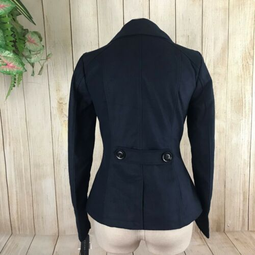 Pink Xs Dame Breasted Celebrity Lined Navy Double Størrelse Peacoat Midnight 5 89 191013246858 dqSWxwPf