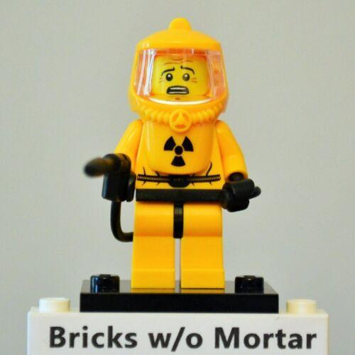 New Genuine LEGO Hazmat Guy Minifig Series 4 8804