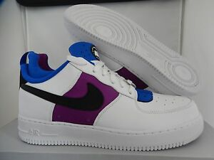 f7ad4e6cc62c NIKE AIR FORCE 1 CMFT HUARACHE WHITE-BLUE-LYON BLUE-BERRY SZ 12 ...