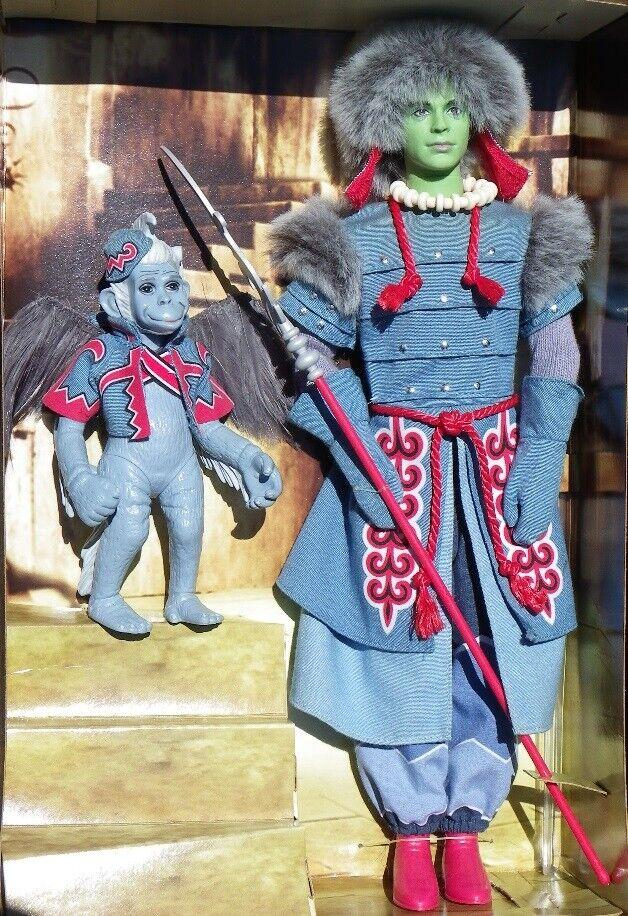 Barbie WINKIE GUARD & WINGED MONKEY Wizard of OZ magicien 2006 Mattel L1291 NRFB