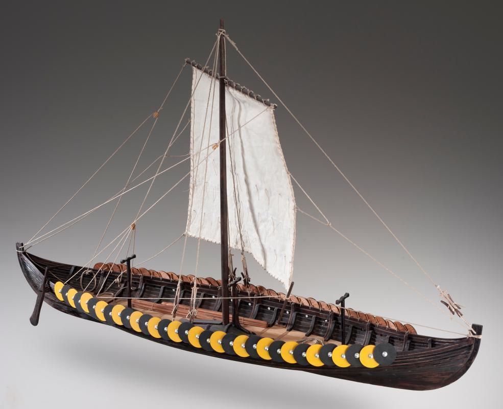 Dusek Viking Ship Gokstad 1 35 Scale D006 Model Boat Kit