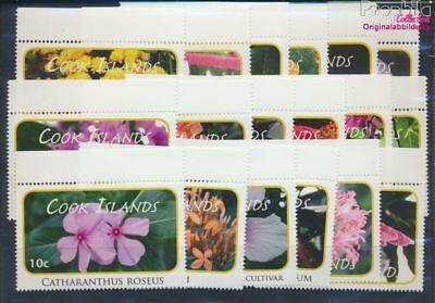 EntrüCkung Cookinseln 1618-1635 Postfrisch 2010 Freimarken 8610138 Pflanzen