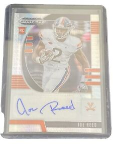 2020 Panini Prizm Draft Picks JOE REED RC Rookie Silver HYPER Auto #10/75