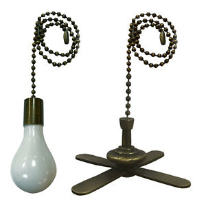 Image Is Loading Royal Designs Fan And Light Bulb Shaped Pull