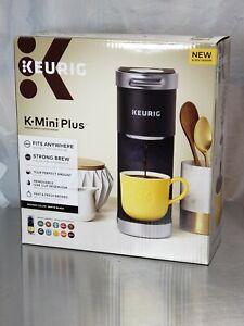 Keurig K-Mini Plus K-Cup Pod Coffee Maker in Matte Black ...