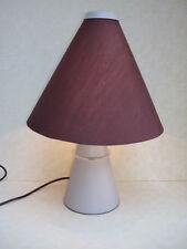 DESIGN  80s TABLE DESK LAMP DE BUREAU LAMPADA DA TAVOLO CONO LUCI LUCITALIA