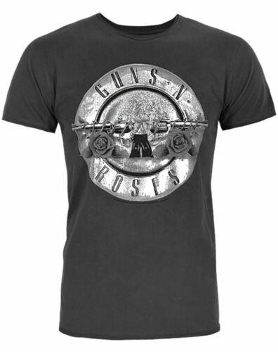 Amplified Guns N Roses Foil Drum Men/'s T-Shirt