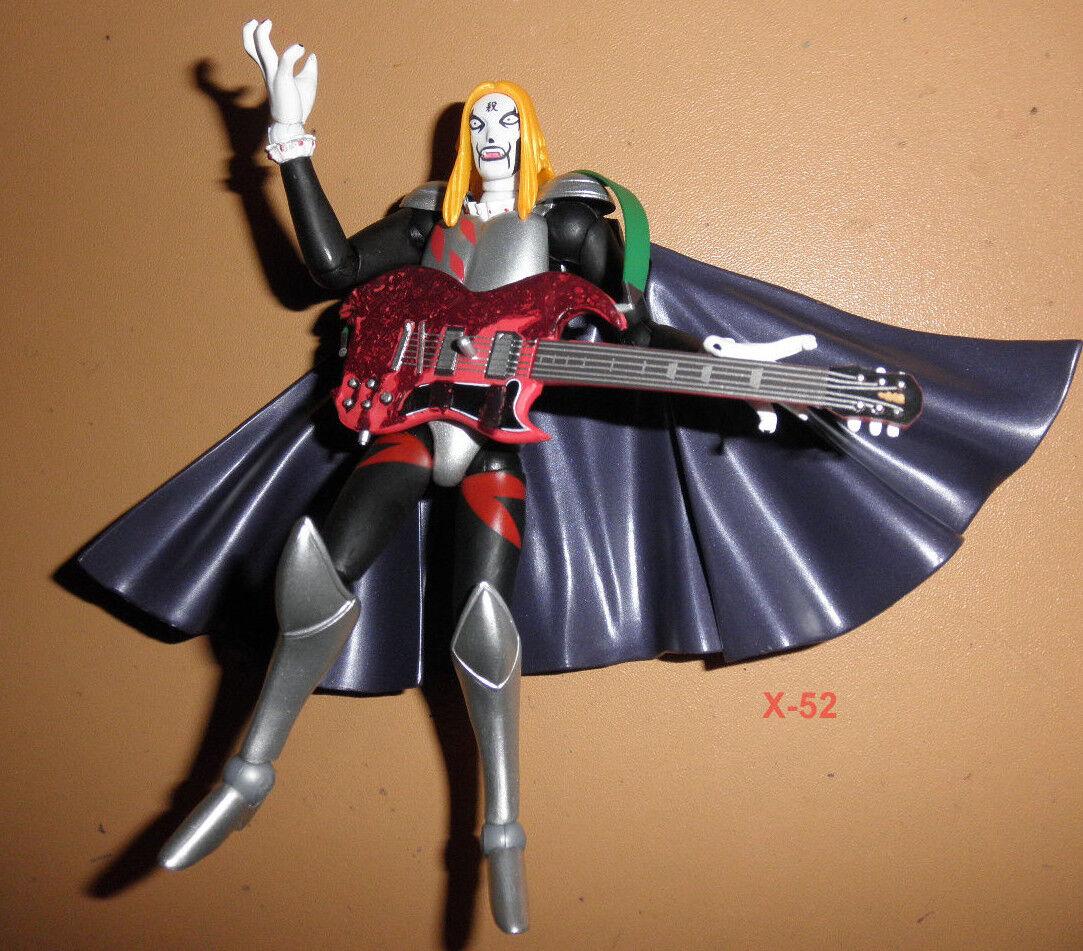KRAUSER 2 figure REVOLTECH series 055 toy KAIYODO detroit metal guitar