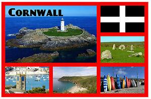 BRAND NEW LANDS END CORNWALL GIFT SOUVENIR NOVELTY FRIDGE MAGNET