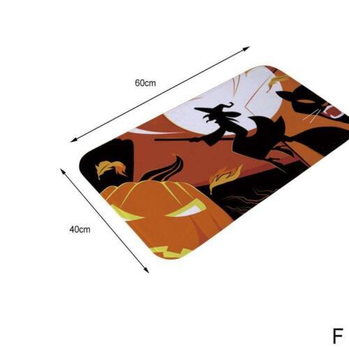 Halloween Feriengeschenk Fußmatten Fußmatten Kürbis Hexen Geister Innenfußboden