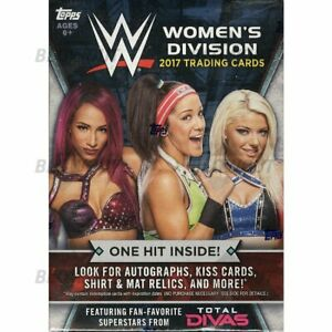 WWE-Topps-Women-039-s-Division-2017-Singles-20-off-3-Cards