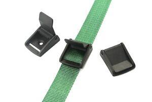 25mm negro plástico palanca de Leva Hebilla Correas de solapa de cierre, x2, x5, x10, x25, x50, x100  </span>
