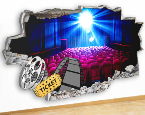 Q202 Cinema Ticket Film Movie Cool Kids  Canvas Picture Poster Wall Art Stickers