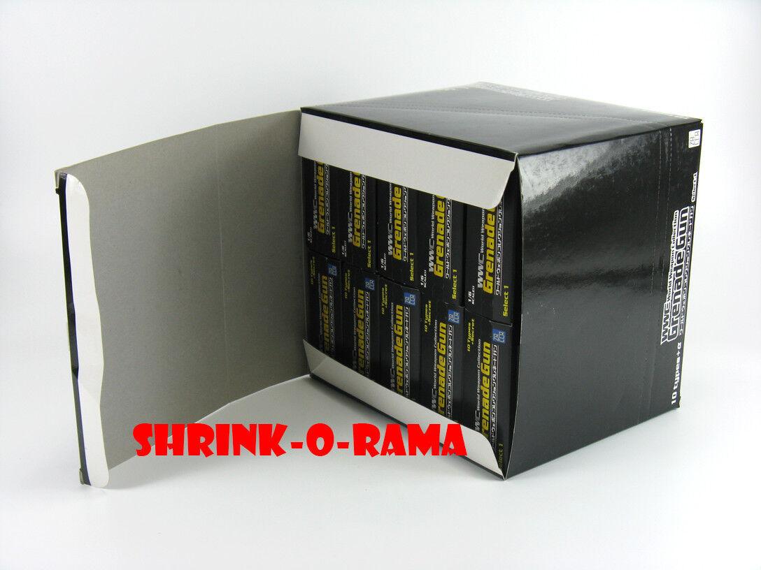 NIB  1 6 Scale Zacca PAP WWC Grenade Gun 10-Piece Sealed  Blind Box  Set