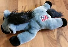 TY Lefty Donkey Beanie Buddies USA Democrat American Flag Stuffed Animal Plush