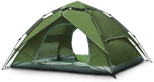 Automatisches Pop-Up-Zelt Kuppelzelt für 3–4 Personen, Campingzelt für Familie