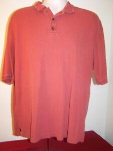 Pronto-Uomo-Mens-Silk-Polo-Shirt-Size-Large-SS