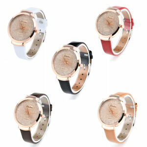 Women-039-s-Casual-Stainless-Steel-Leather-Watch-Analog-Quartz-Fashion-Wrist-Watches