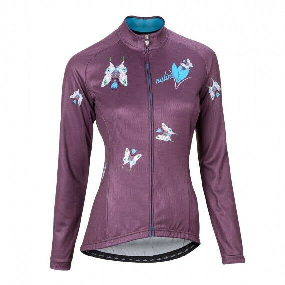 NALINI Butterfly Woman's Long Sleeve Jersey Size M. Col.C000.10.4750